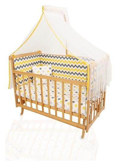 """Bebe Konfor Anne Yanı Beşik """"Gri Yıldız"""" Uyku Seti ile Elyeza Sarı"""